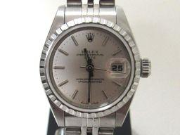 ROLEX ロレックス デイト 腕時計 ウォッチ 79240 シルバー ステンレススチール(SS) 【中古】【ラン