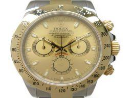 ROLEX ロレックス デイトナ 腕時計 ウォッチ 116523 ゴールド ステンレススチール(SS) イエローゴ