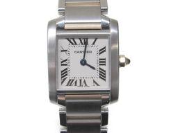 Cartier カルティエ タンクフランセーズSM 腕時計 ウォッチ W51007Q4 シルバー x ゴールド ス