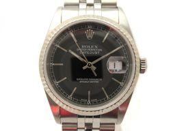 ROLEX ロレックス デイトジャスト 腕時計 ウォッチ 16234 シルバー K18WG(750)ホワイトゴール