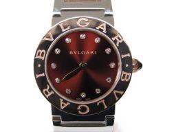 BVLGARI ブルガリ ブルガリ ブルガリ 12Pダイヤモンド 腕時計 ウォッチ BBL26C11SPG/12