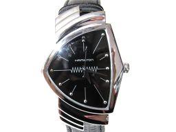 HAMILTON ハミルトン ベンチュラ 腕時計 ウォッチ H24411732 ブラック ステンレススチール(SS
