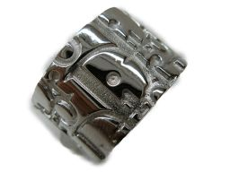 Dior クリスチャン・ディオール トロタリング 指輪 シルバー SV925 【中古】【ランクA】 メンズ/レディ