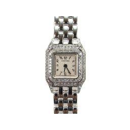 Cartier カルティエ ミニパンテール2重ダイヤベゼル シルバー K18WG(750)ホワイトゴールド 【中古