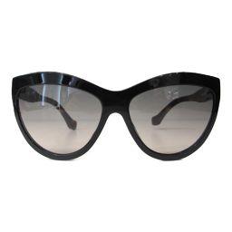 BALENCIAGA バレンシアガ サングラス 60□16 ブラウンxブラック プラスチック 【中古】【ランクA】