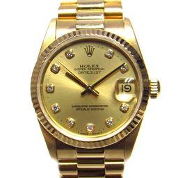 ROLEX ロレックス デイトジャスト 時計 ウォッチ 68278G ゴールド K18YG(750)イエローゴール
