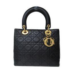 Dior クリスチャン・ディオール レディーディオール カナージュ ハンドバッグ ショルダーバッグ MA-0957