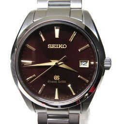 SEIKO セイコー グランドセイコー 腕時計 ウォッチ SBGV027 ブラウン ステンレススチール(SS) 【