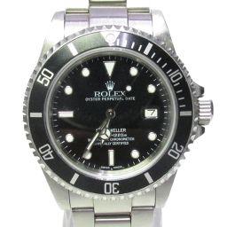 ROLEX ロレックス シードゥエラー 時計 ウォッチ 16660 ブラック ステンレススチール(SS) 【中古】