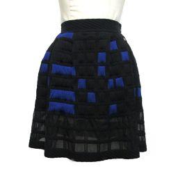 CHANEL シャネル 2013S スカート P46099K05770 ブラック×ブルー 45%ポリプロピレン×3