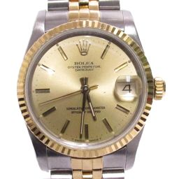 ROLEX Rolex Datejust Watch Watch 68273 Gold Stainless Steel (SS) ×
