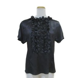 CHANEL Chanel Short Sleeve Blouse Black [Used] [Rank B] Ladies