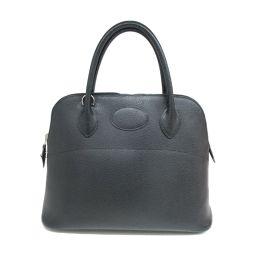 HERMES Hermes Bored 31 Handbag Black (Silver Hardware) Vashleese □ J Stamp [Used