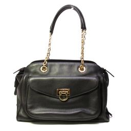 Salvatore Ferragamo Salvatore Ferragamo Gancini 2 way shoulder bag HANDBA