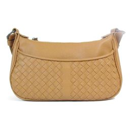 BOTTEGA VENETA Bottega Veneta Shoulder Bag Blond Leather [Used] [Rank A] Lady
