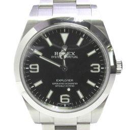 ROLEX ロレックス エクスプローラー 1 腕時計 ウォッチ 214270 ブラック ステンレススチール(SS)