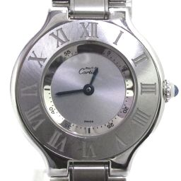 Cartier Cartier Mast 21 Watch Watch Silver Stainless Steel (SS) [Used] [Rank A]