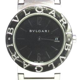 BVLGARI Bulgari Bulgari Bulgari Watch Watch BB26SS Black Stainless Steel (SS)