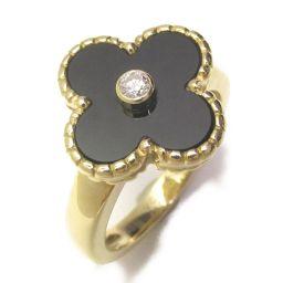 Van Cleef & Arpels Van Cleef & Arpels Vintage Alhambra Ring Ring Black