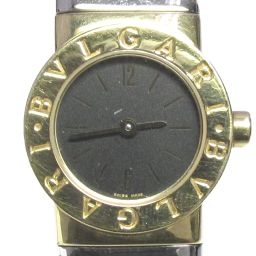 BVLGARI Bvlgari Bvlgari Bvlgari Tubogas watch watch BB192TSY black stainless steel