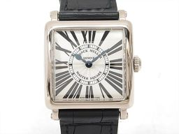 FRANCK MULLER フランク・ミュラー マスタースクウェア 腕時計 ウォッチ 6002QZ シルバー K1