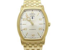 OMEGA オメガ デ・ビル ジャンピングアワー メンズ ウォッチ 腕時計 4153-31 ゴールド K18YG(