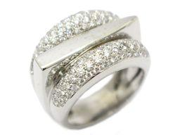 FRED フレッド サクセスリング 指輪 シルバー K18WG(750) ホワイトゴールド ×ダイヤモンド 【中古