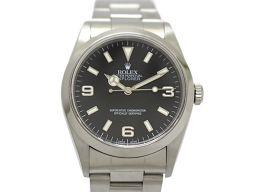 ROLEX ロレックス エクスプローラー1 メンズ ウォッチ 腕時計 14270 シルバー ステンレススチール(S