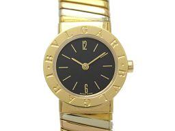 BVLGARI ブルガリ トゥボガス M レディース ウォッチ 腕時計 BB232T ゴールド K18YG(750