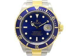 ROLEX ロレックス サブマリーナ メンズ ウォッチ 腕時計 16613 ゴールド K18YG(750)イエロー