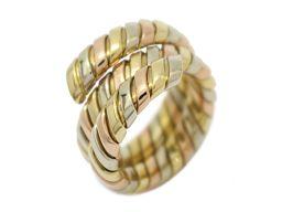 BVLGARI ブルガリ トゥボガス リング 指輪 イエローゴールド/ホワイトゴールド/ローズゴールド K18YG