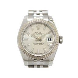 ROLEX ロレックス デイトジャスト レディース ウォッチ 腕時計 179174 シルバー K18WG(750)