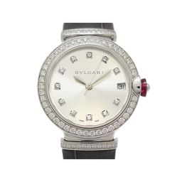 BVLGARI ブルガリ ルチェア レディース ウォッチ 腕時計 LUW33C6GDLD シルバー K18WG(7