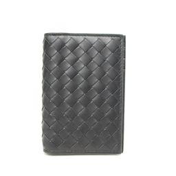 BOTTEGA VENETA ボッテガ・ヴェネタ イントレチャート カードケース 名刺入れ 120701 ブラック
