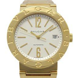 BVLGARI ブルガリ ブルガリ ブルガリ メンズウォッチ 腕時計 BB38GG ホワイト K18YG(750)