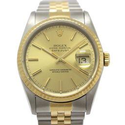 ROLEX ロレックス デイトジャスト メンズウォッチ 腕時計 16233  ゴールド K18YG(750)イエロ