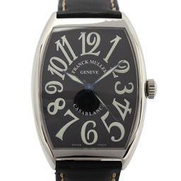 FRANCK MULLER フランク・ミュラー カサブランカ メンズウォッチ 腕時計 6850 ブラック ステンレ