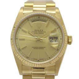 ROLEX ロレックス デイデイト メンズウォッチ 腕時計 18038  ゴールド K18YG(750)イエローゴ