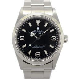 ROLEX ロレックス エクスプローラー? メンズウォッチ 腕時計 14270 ブラック ステンレススチール(SS
