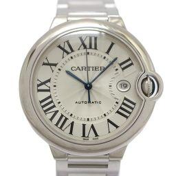 Cartier カルティエ バロンブルーLM  メンズウォッチ 腕時計 W69013Z2 シルバー K18WG(7