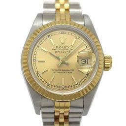 ROLEX ロレックス デイトジャスト レディースウォッチ 腕時計 69173 ゴールド K18YG(750)イエ