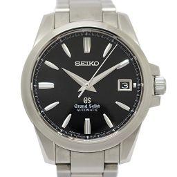 SEIKO セイコー グランドセイコー メンズウォッチ 腕時計 SBGR057 ブラック ステンレススチール(SS