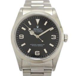 ROLEX ロレックス エクスプローラー?メンズウォッチ 腕時計 14270  ブラック ステンレススチール(SS