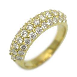 JEWELRY ジュエリー ダイヤモンド リング 指輪 クリアー K18YG(750) イエローゴールド 【中古】