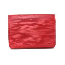 LOUIS VUITTON Louis Vuitton Anvelop Cult de Visit Business Card Holder Card Case M5