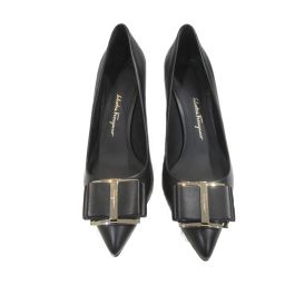 Salvatore Ferragamo Salvatore Ferragamo Ribbon Pumps Black Leather