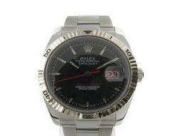 ROLEX ロレックス ターノグラフ 腕時計 ウォッチ 116264 シルバー ステンレススチール(SS) 【中古