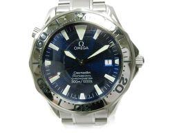 OMEGA オメガ シーマスター プロフェッショナル メンズ腕時計 ウォッチ 2255.80 ブルー×シルバー ス
