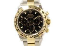 ROLEX ロレックス デイトナ 腕時計 ウォッチ 116503 ブラック ステンレススチール(SS) ×K18Y