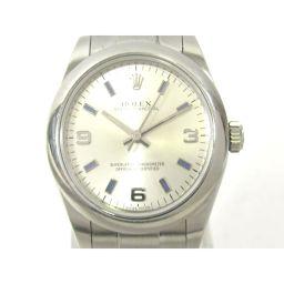 ROLEX ロレックス オイスター パーペチュアル ウォッチ 腕時計 177200 シルバー ステンレススチール(
